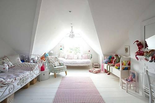 decoracao de interiores sotaos:Attic Bedroom Ideas