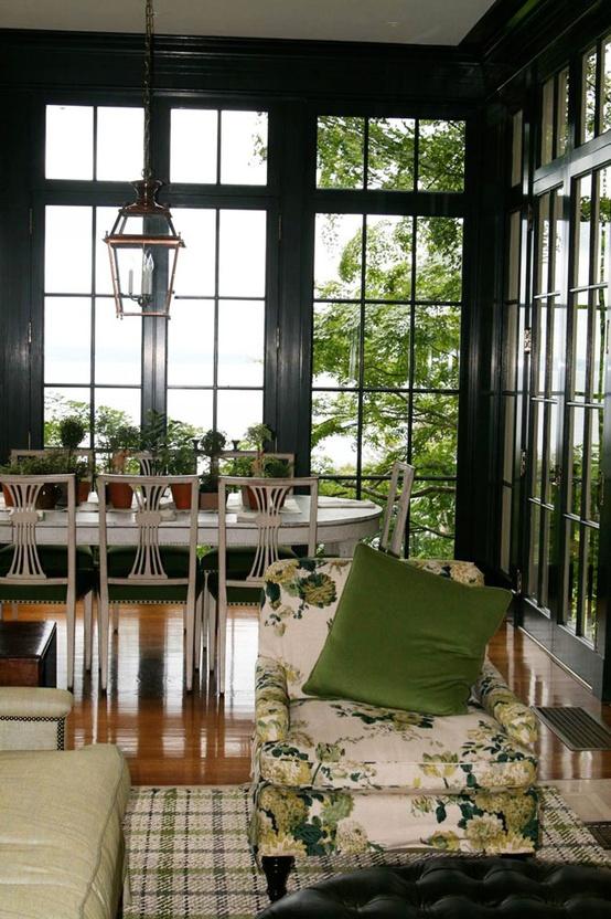 Lucy williams interior design blog black is back for Lucy williams interiors