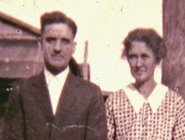 Arthur and Maude (Noble) Haddix, ca 1934