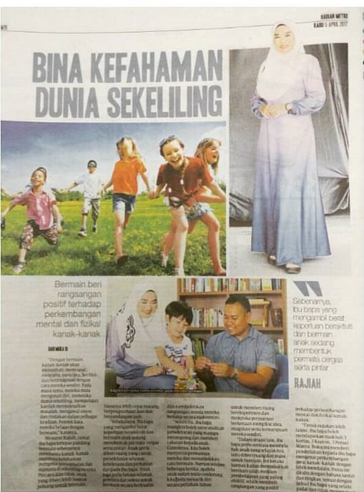 Featured in Harian Metro (5/4/2017)