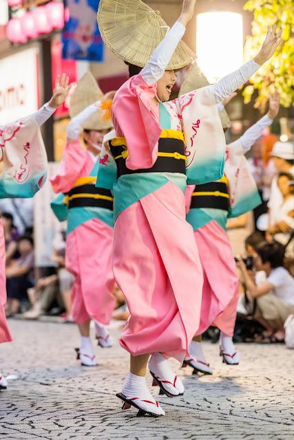 三鷹阿波踊り、小金井さくら連の女踊り