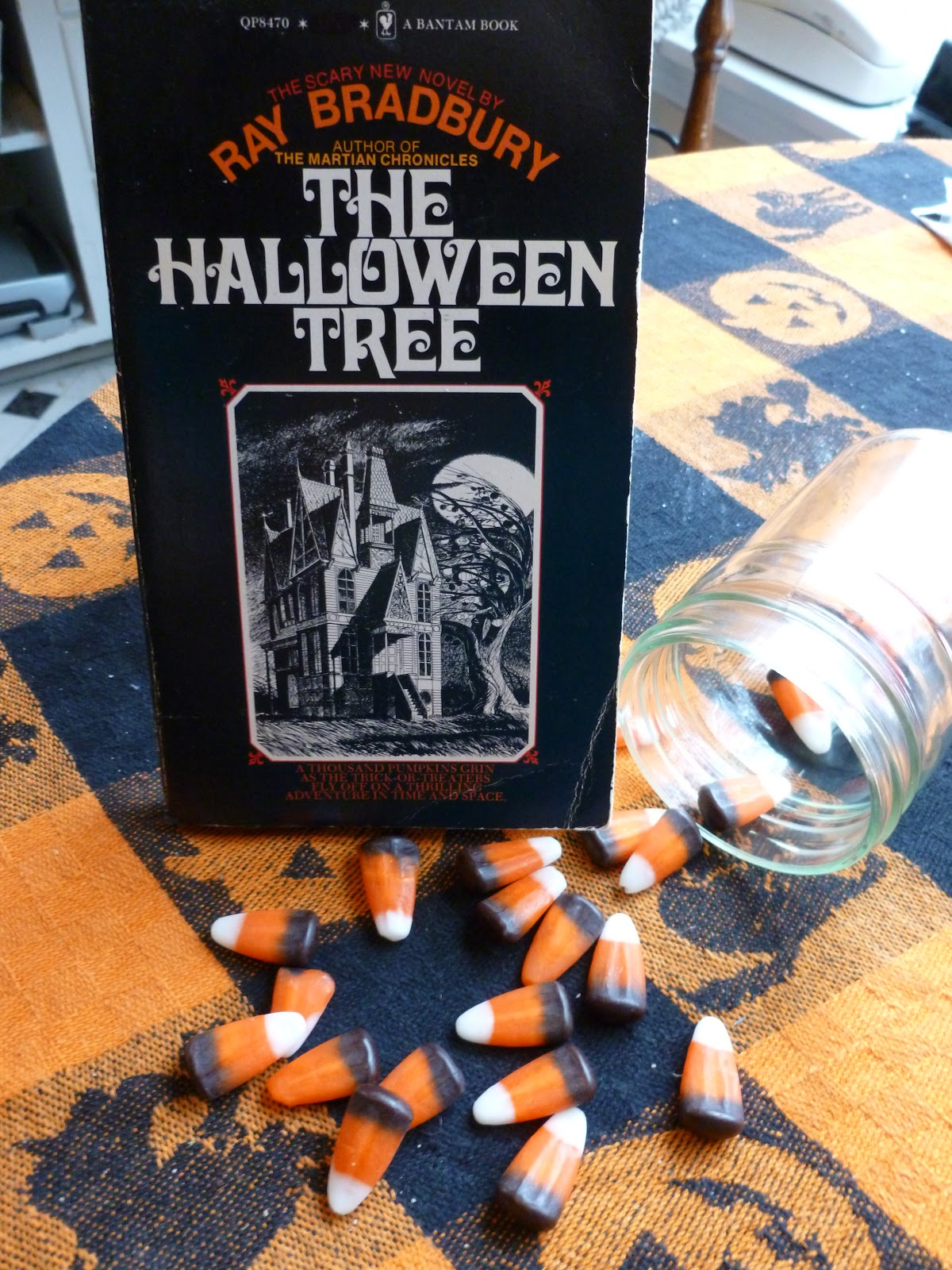 "aj's rants and reviews: ""the halloween tree""ray bradbury"