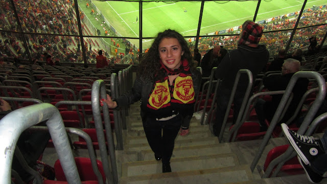 Antonia - A Manchester United girl from Bulgaria