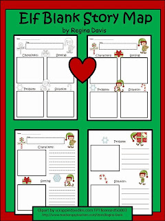 http://www.teacherspayteachers.com/Product/A-Elf-Blank-Story-Maps-418308