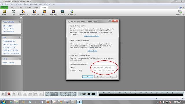 ... Edo's blog: Wavepad Sound Editor Master Edition (Full version Crack