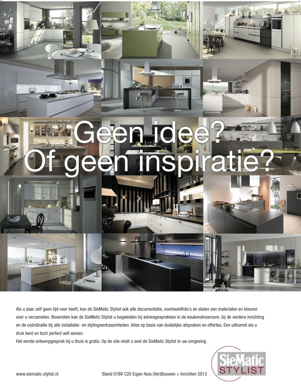 Interieurcursus opzoek naar professioneel keuken en for Interieur beurs