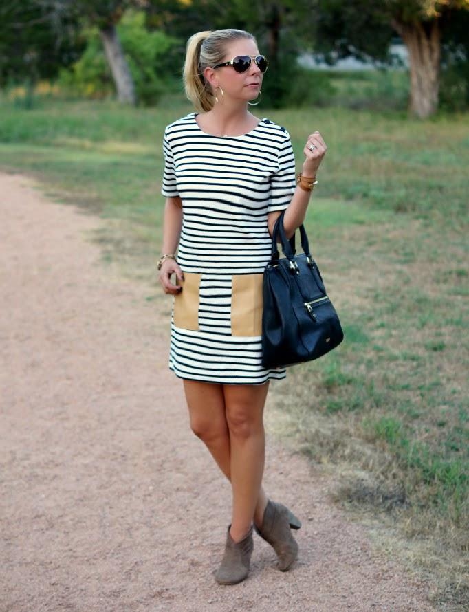 ruche tokyo summer striped tunic dress
