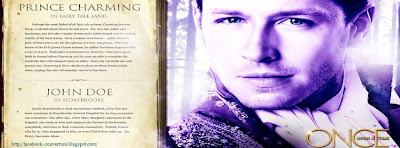 Couverture facebook serie once upon a time