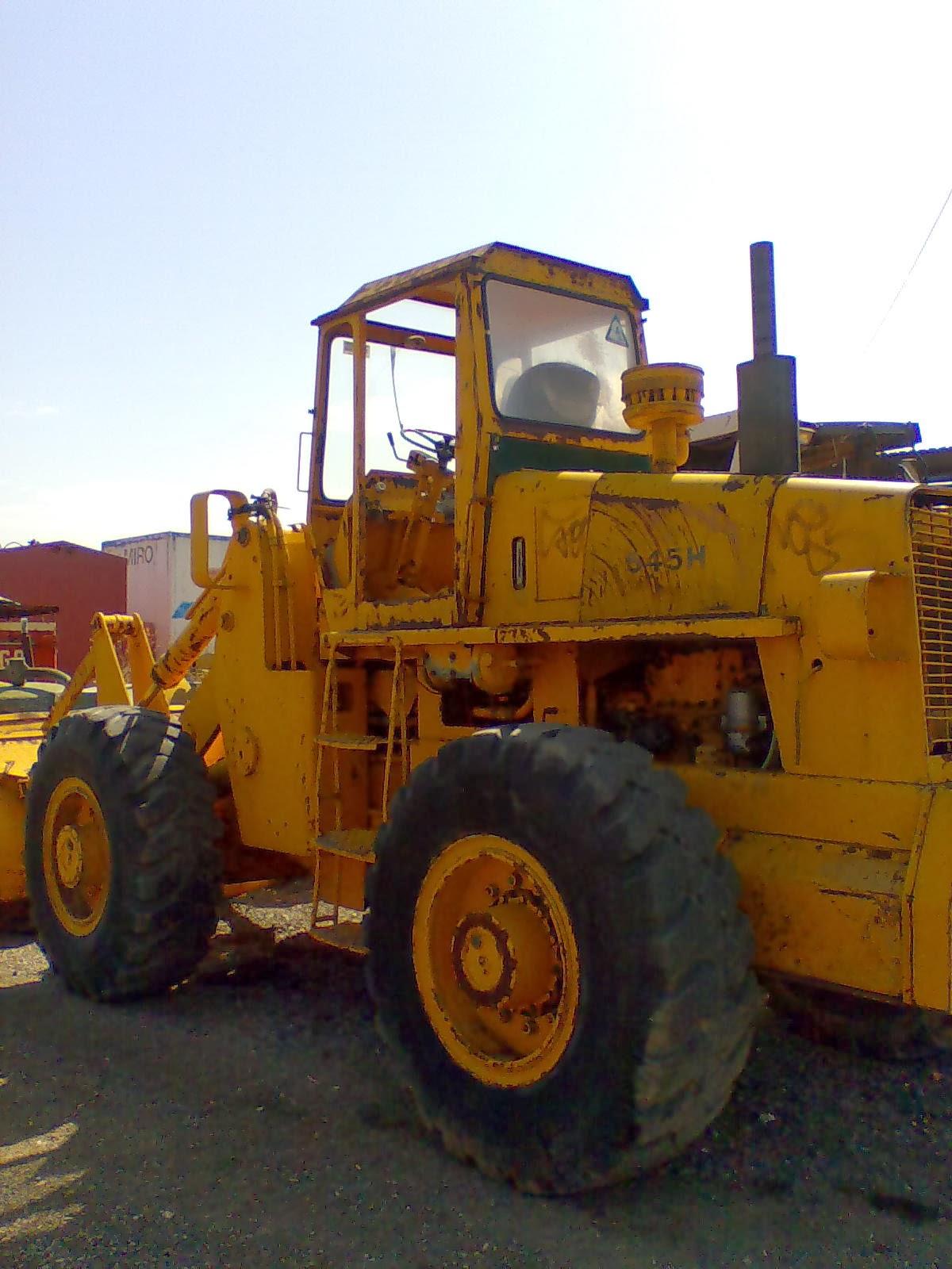 PALA CARGADORA FIAT ALLIS 545 HB