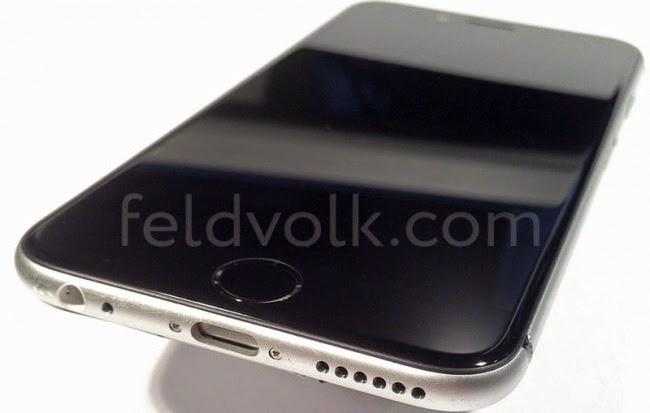 iPhone 6 smartphone assembled