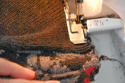 How to sew a sweater skirt