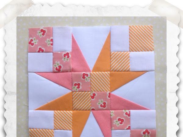 Chatleaine- Free BOW Sampler Quilt Block 56