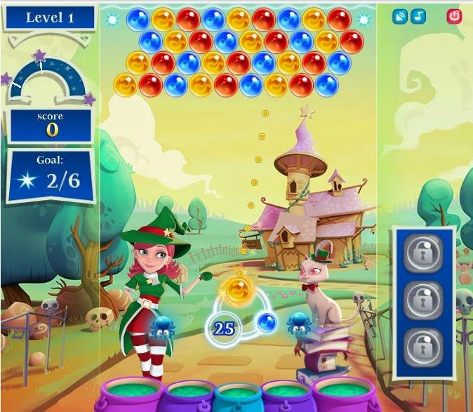 game facebook Bubble Witch 2 Saga