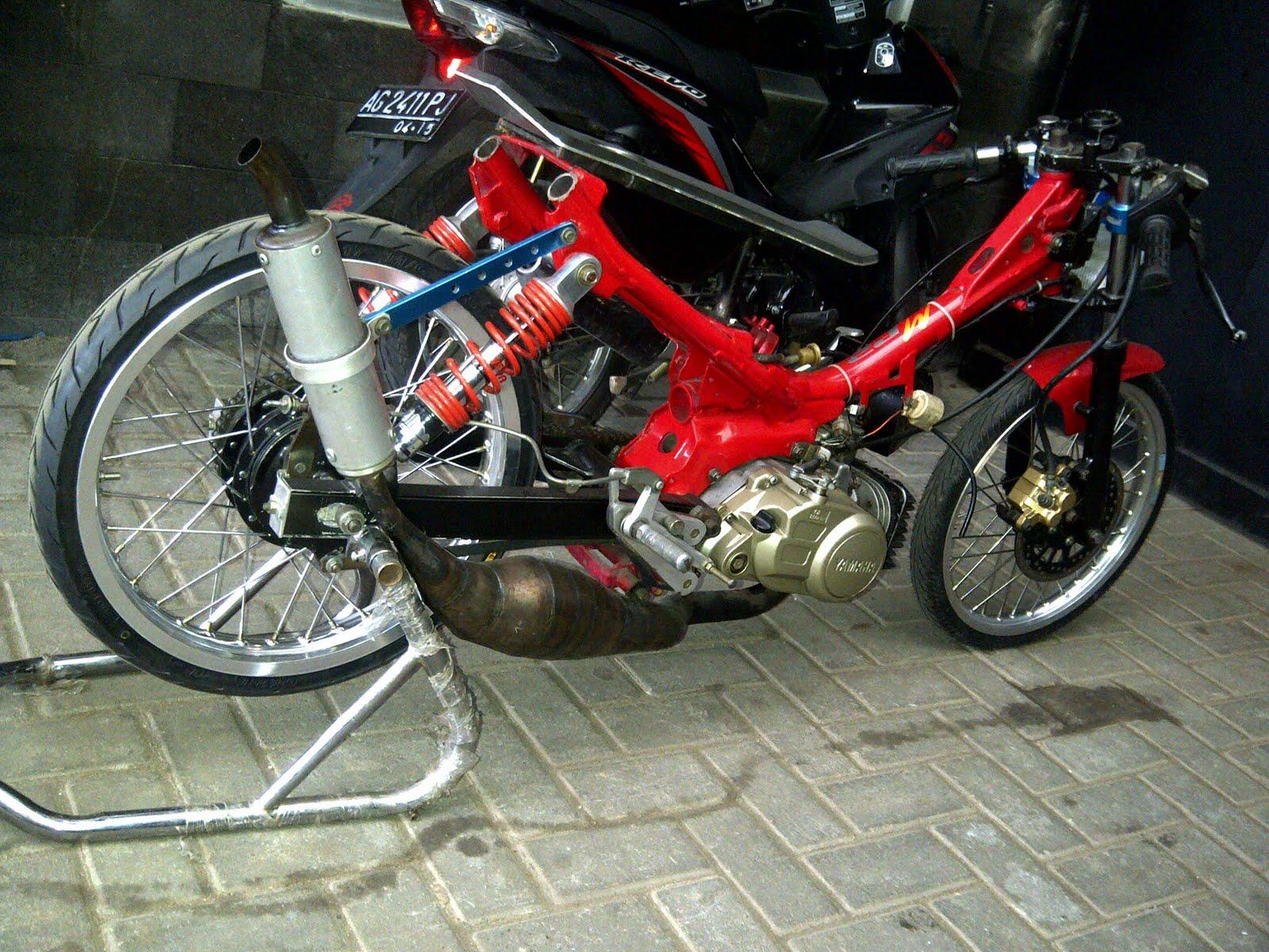 Fiz R Modifikasi Motocross