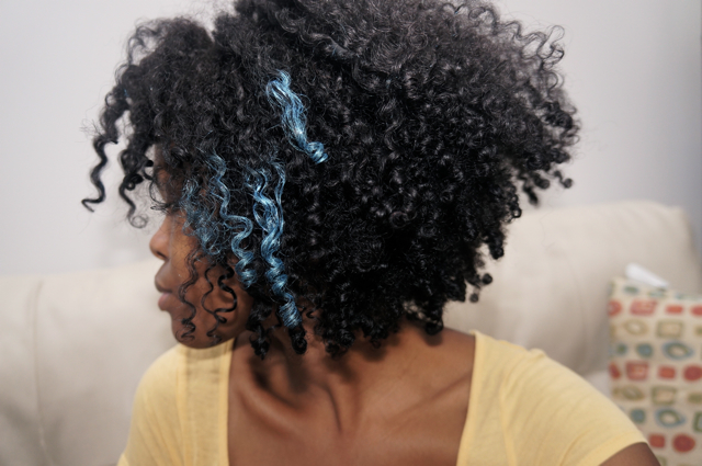 Blue highlights anyone curlynikki natural hair care blue highlights anyone my hair pmusecretfo Gallery