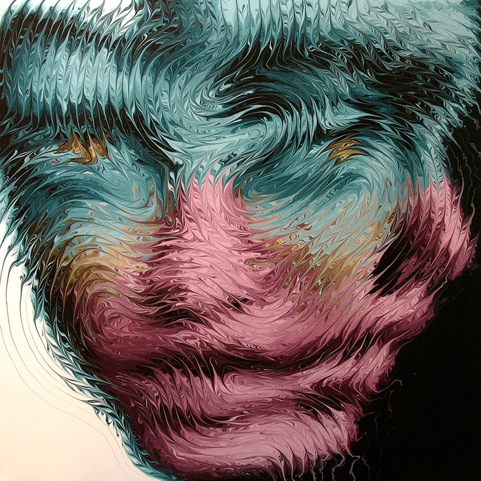 Distorted Portrait Paintings By Mikael Takacs