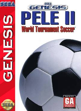 Pelé II world tournament soccer mega drive