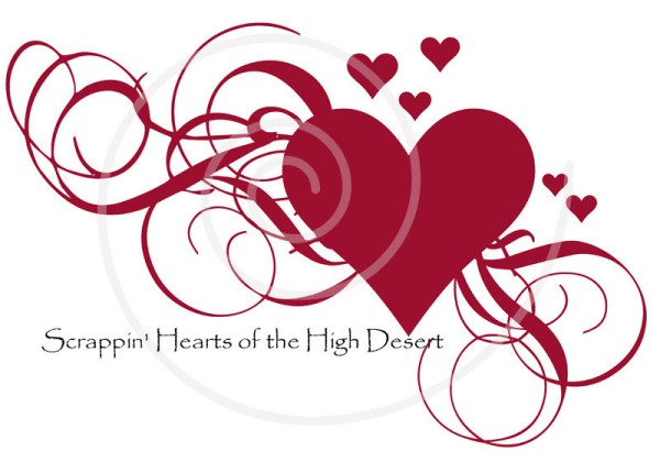 Scrappin' Hearts of the High Desert