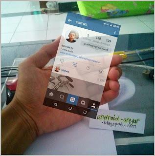 Cara Mudah Membuat Foto Instagram in Hand dengan PicsArt