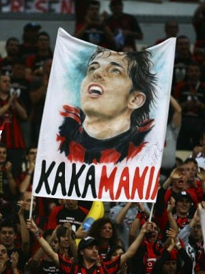 Kaka wished by Milan fans