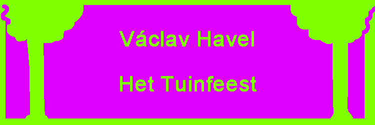 Havels tuinfeest
