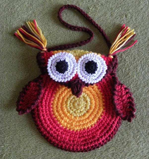 Como hacer buhos al crochet - Imagui