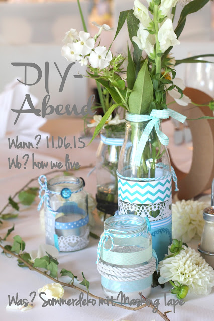 DIY Abend Save the date