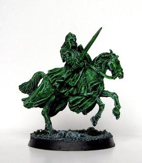 Figurka władca pierścieni - jeździec umarłych