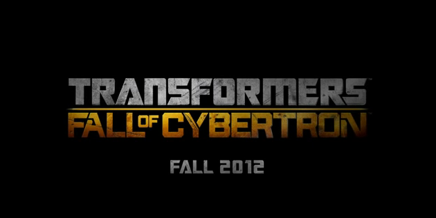 Transformers Fall of Cybertron 2012 video game title third-person shooter sequel spike tv vga debut transformers high moon studios