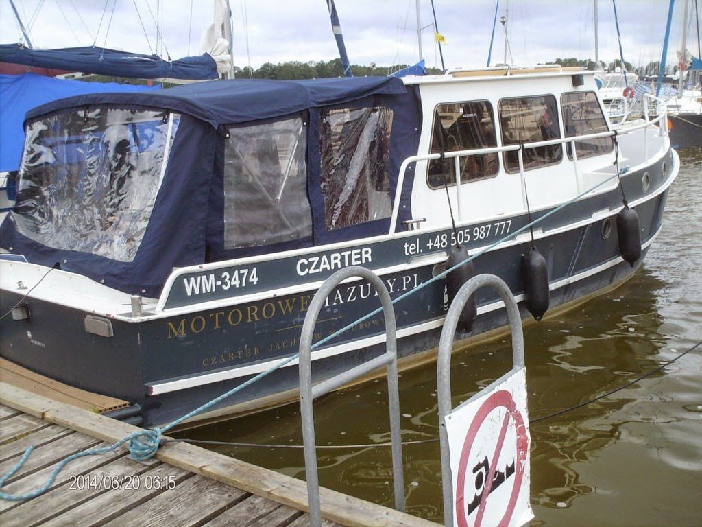 Gibt es auch bei Fichtner, also Polen-Hausboote