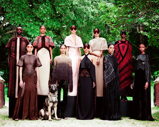 Givenchy alta costura otoño-invierno 2012/13