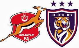 Penuh Perlawanan Kelantan Vs JDT Suku Akhir Kedua Piala Malaysia 2013