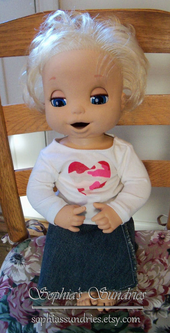"""Giveaway Winner 18"""" Doll Clothes Fit Baby Alive"""