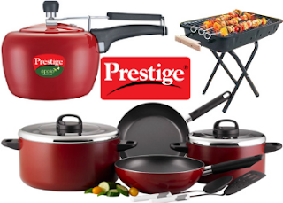 Buy Prestige Kitchen Products at upto 40% off & Extra 40% Off :Buytoearn
