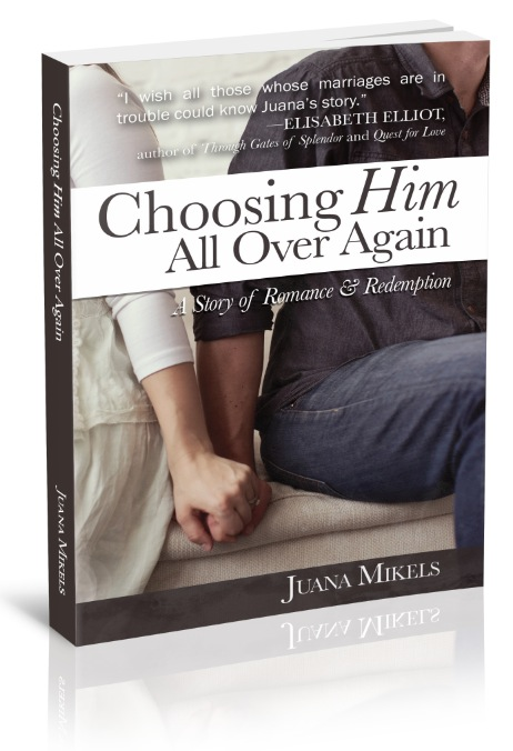 My Choosing Him Book available NOW on Amazon or bookstore near you