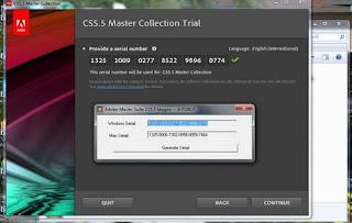 adobe creative suite 5 design premium trial serial number free