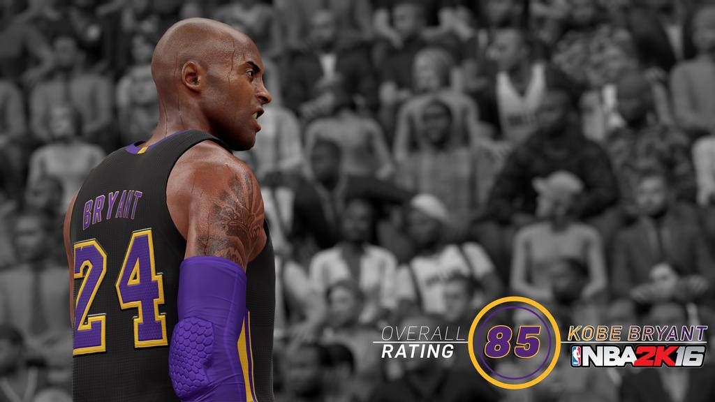 NBA 2k16 : Kobe Bryant Rating