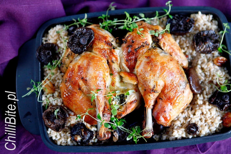 Chillibite Pl Motywuje Do Gotowania Kurczak Na Plasko Pieczony Z