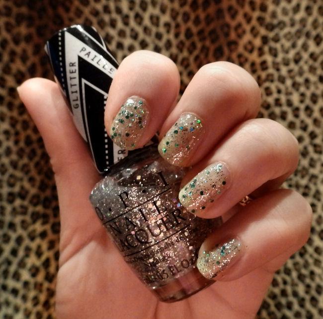 OPI Glitter Off Peelable base coat In True Stefani Fashion Orly Monster Mash blog review