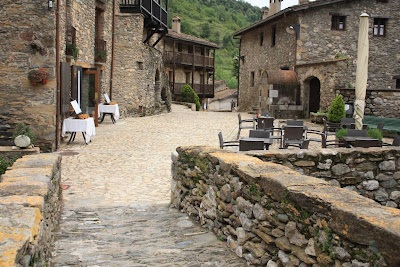 Medieval village of Beget in La Vall de Camprodon