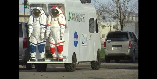 University of North Dakota Starts a Ten Day Lunar Habitat Experiment. Credit: wday.com