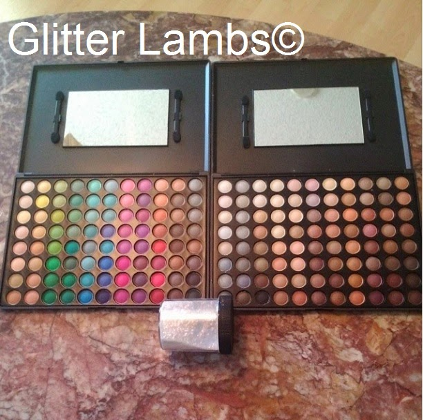 Glitter Lambs: Coastal Scents Eyeshadow Palettes and Mirage ...