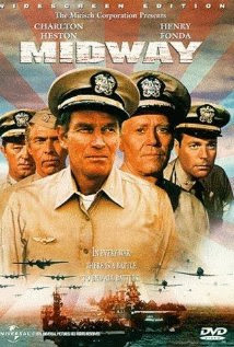Midway (released in 1976) - Starring Charlton Heston, Henry Fonda, James Coburn and Glenn Ford