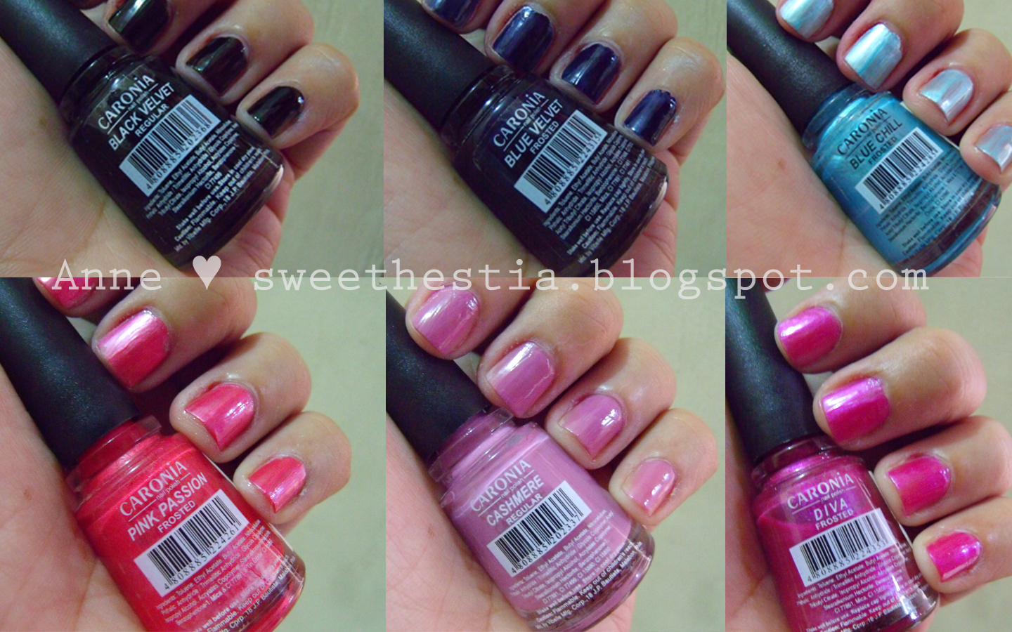 Nail Varnish Colours Names