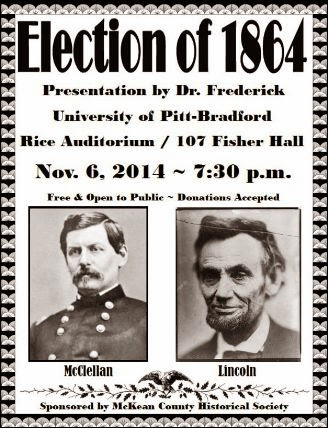11-6 Election Of 1864, Pitt-Bradford
