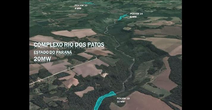 Vídeo de localização das PCHs
