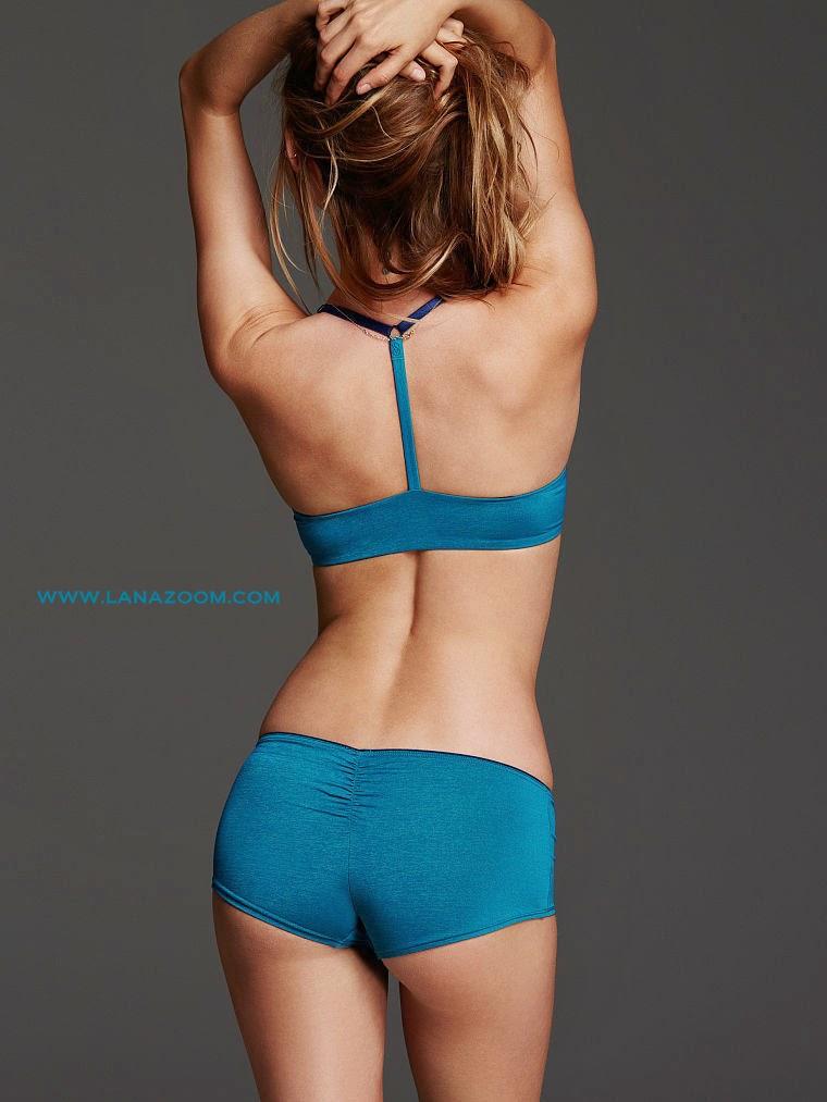 عارضة الأزياء بيهاتي برينسلو في صور بالملابس الداخلية لفكتوريا سيكريت مارس 2015