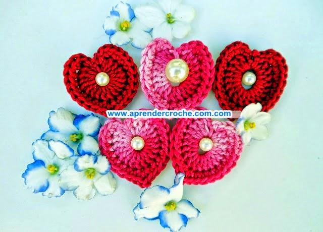 aprender croche coração blog vermelho perolado perolas edinir-croche dvd video-aulas curso de croche loja frete gratis