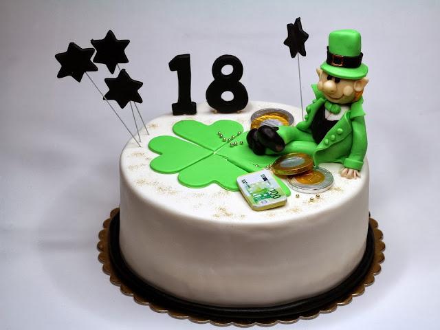 18th Birthday Cake for Boy in London - Birthday Cakes in London, Kensington