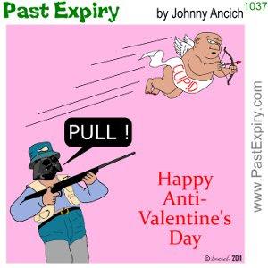 [CARTOON] Anti Valentine's Day. cartoon, DarthVadar, relationships, Valentines, violence,